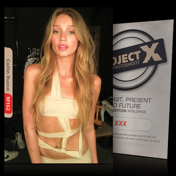 Cailin Russo [ ID: M162 #XX ] PROJECT X LIMITED EDITION CARDS