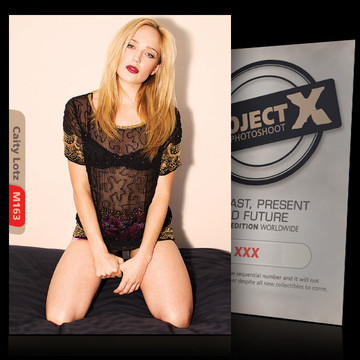 Caity Lotz [ ID: M163 #XX ] PROJECT X LIMITED EDITION CARDS