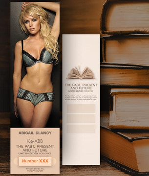 Abigail Clancy [ # 166-XBB ] Bookmarks for Books - Limited
