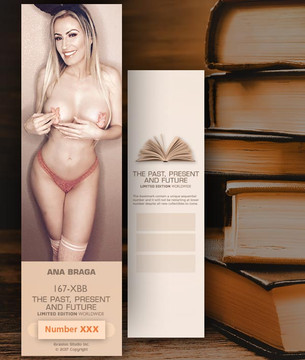 Ana Braga [ # 167-XBB ] Bookmarks for Books - Limited