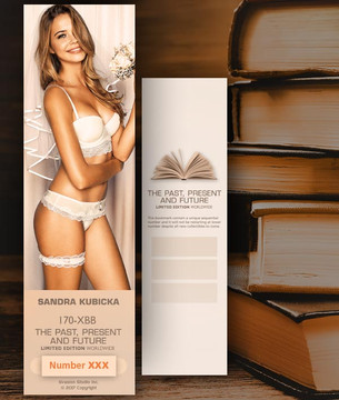 Sandra Kubicka [ # 170-XBB ] Bookmarks for Books - Limited