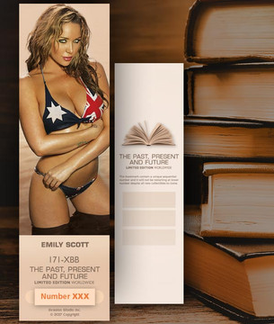 Emily Scott [ # 171-XBB ] Bookmarks for Books - Limited