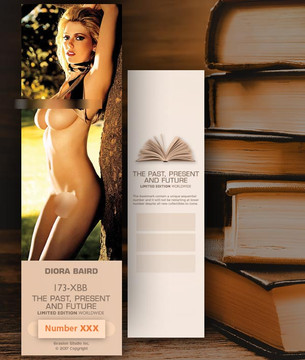 Diora Baird [ # 173-XBB ] Bookmarks for Books - Limited