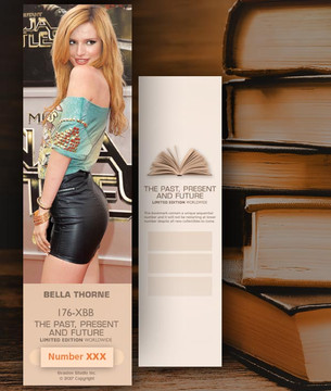 Bella Thorne [ # 176-XBB ] Bookmarks for Books - Limited