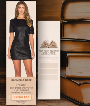 Carmella Rose [ # 177-XBB ] Bookmarks for Books - Limited