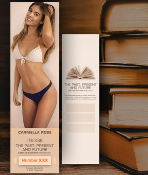 Carmella Rose [ # 178-XBB ] Bookmarks for Books - Limited