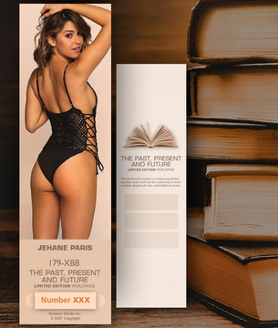 Jehane Paris [ # 179-XBB ] Bookmarks for Books - Limited