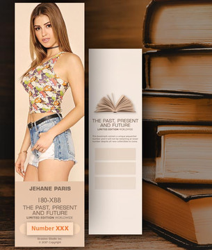 Jehane Paris [ # 180-XBB ] Bookmarks for Books - Limited