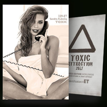 Sandra Kubicka / Telephone [ # 339-ET ] TOXIC ATTRACTION cards