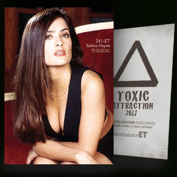 Salma Hayek / Vip Lounge [ # 341-ET ] TOXIC ATTRACTION cards