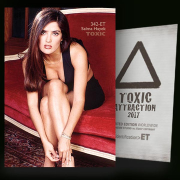 Salma Hayek / Vip Lounge Vol.2 [ # 342-ET ] TOXIC ATTRACTION cards