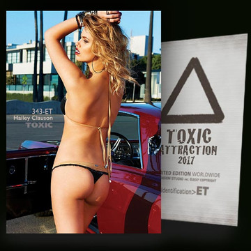 Hailey Clauson / Red Car [ # 343-ET ] TOXIC ATTRACTION cards