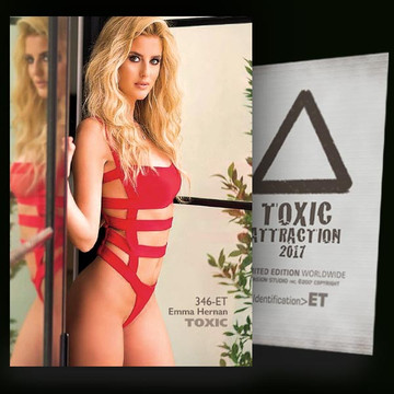 Emma Hernan / Reflection [ # 346-ET ] TOXIC ATTRACTION cards