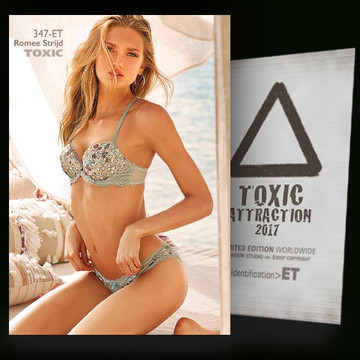 Romee Strijd / Paradise Island [ # 347-ET ] TOXIC ATTRACTION cards