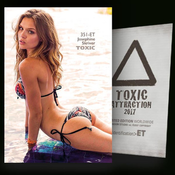 Josephine Skriver / Moment of Reflection [ # 351-ET ] TOXIC ATTRACTION cards