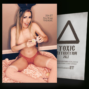 Ana Braga / Into The Moment Vol.2 [ # 354-ET ] TOXIC ATTRACTION cards