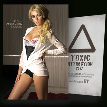 Abigail Clancy / Location [ # 357-ET ] TOXIC ATTRACTION cards