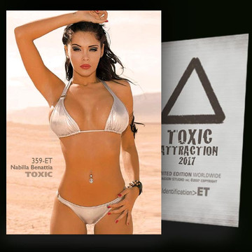 Nabilla Benattia / The Desert [ # 359-ET ] TOXIC ATTRACTION cards