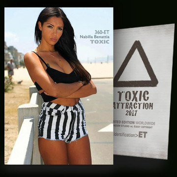 Nabilla Benattia / Near Beach [ # 360-ET ] TOXIC ATTRACTION cards