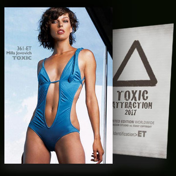 Milla Jovovich / Blue Sky [ # 361-ET ] TOXIC ATTRACTION cards