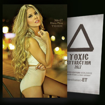 Diana Mesa / Hot Evening [ # 366-ET ] TOXIC ATTRACTION cards