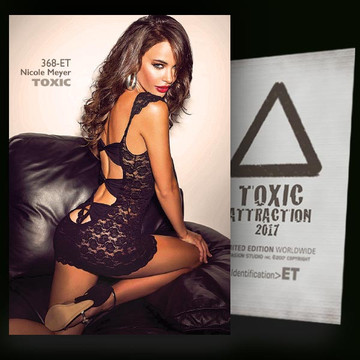 Nicole Meyer / Dark Leather Sofa [ # 368-ET ] TOXIC ATTRACTION cards