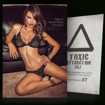 Nicole Meyer / Dark Leather Sofa Vol.2 [ # 369-ET ] TOXIC ATTRACTION cards