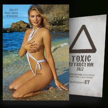 Kate Upton / Blue River [ # 384-ET ] TOXIC ATTRACTION cards