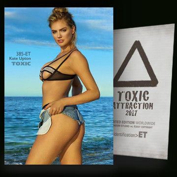 Kate Upton / Blue River Vol.2 [ # 385-ET ] TOXIC ATTRACTION cards