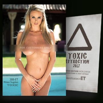 Rhian Sugden / Vip Pool [ # 388-ET ] TOXIC ATTRACTION cards