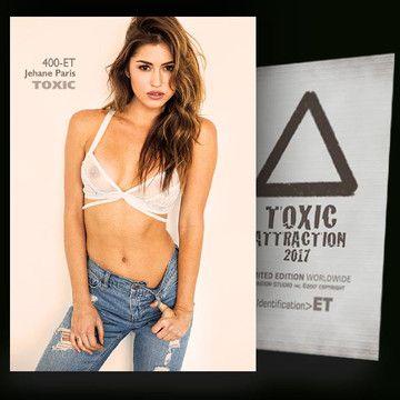 Jehane Paris / Transparency [ # 400-ET ] TOXIC ATTRACTION cards