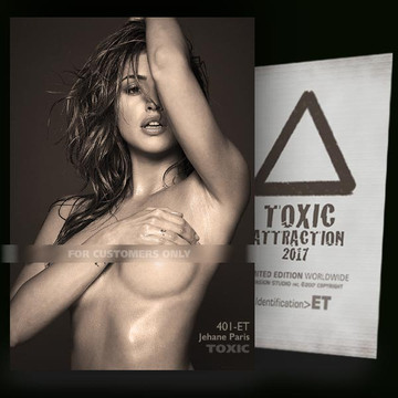 Jehane Paris / Photographed [ # 401-ET ] TOXIC ATTRACTION cards