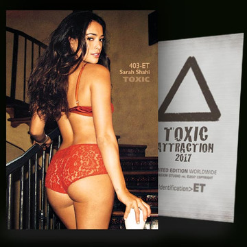Sarah Shahi / Hot And Sexy [ # 403-ET ] TOXIC ATTRACTION cards