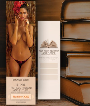 Bianca Balti [ # 181-XBB ] Bookmarks for Books - Limited