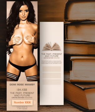 Brooke Burns [ # 184-XBB ] Bookmarks for Books - Limited