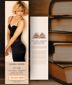 Dianna Agron [ # 187-XBB ] Bookmarks for Books - Limited
