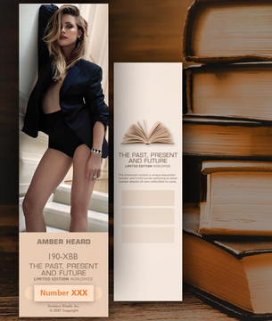 Amber Heard [ # 190-XBB ] Bookmarks for Books - Limited