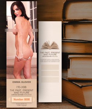 Emma Glover [ # 193-XBB ] Bookmarks for Books - Limited