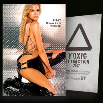 Brooke Burns / Super Sexy [ # 418-ET ] TOXIC ATTRACTION cards