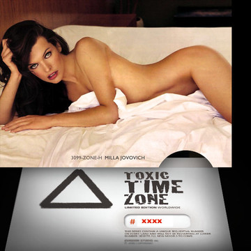 Milla Jovovich / Refreshing  [ # 3099-ZONE-​H ] - TOXIC TIME ZONE - NUMBERED