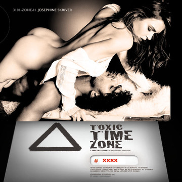 Josephine Skriver / Passion  [ # 3101-ZONE-​H ] - TOXIC TIME ZONE - NUMBERED