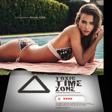 Rachel Cook / Near Pool [ # 3103-ZONE-​H ] - TOXIC TIME ZONE - NUMBERED