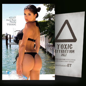 Demi Rose Mawby / Wonderful View [ # 422-ET ] TOXIC ATTRACTION cards