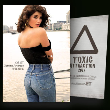 Gemma Arterton / Looking Backward [ # 428-ET ] TOXIC ATTRACTION cards