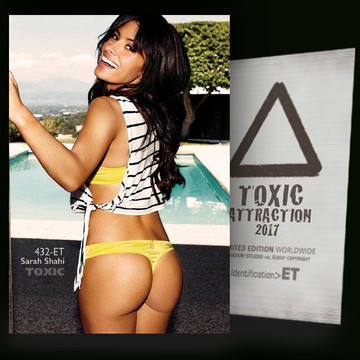 Sarah Shahi / Beautiful Smile [ # 432-ET ] TOXIC ATTRACTION cards