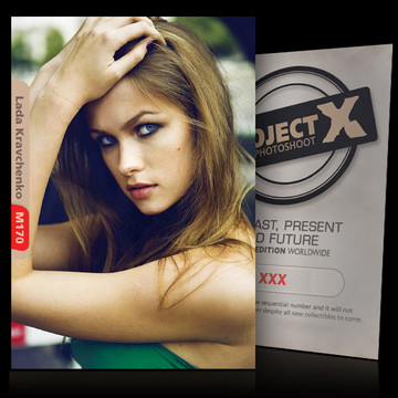 Lada Kravchenko / Green [ ID: M170 #XX ] PROJECT X LIMITED EDITION CARDS