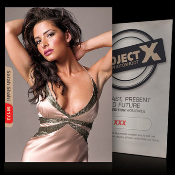 Sarah Shahi / Passion [ ID: M172 #XX ] PROJECT X LIMITED EDITION CARDS