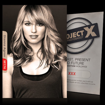Dianna Agron / Beauty [ ID: M174 #XX ] PROJECT X LIMITED EDITION CARDS