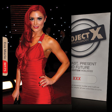 Eva Marie / Flash Red [ ID: M175 #XX ] PROJECT X LIMITED EDITION CARDS