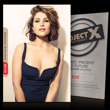 Gemma Arterton [ ID: M178 #XX ] PROJECT X LIMITED EDITION CARDS